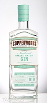 Copperworks Distilling Company Northwest Small Batch Gin
