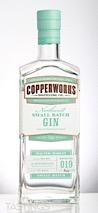 Copperworks Distilling Company Northwest Small Batch Gin