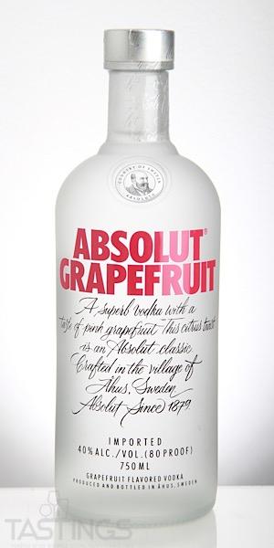 Grapefruit Flavored Vodka Drinks