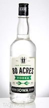 Two Founders 80 Acres Vodka