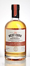 West Cork 12 Year Rum Cask Finish Single Malt Irish Whiskey