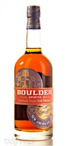 Boulder American Single Malt Whiskey - American Oak