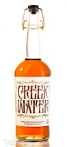 Creek Water Distilled from Bourbon Mash Whiskey