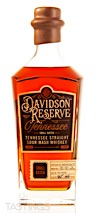 Davidson Reserve Tennessee Straight Sour Mash Whiskey