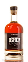 Bespoken Spirits Distilled from Bourbon Mash Whiskey