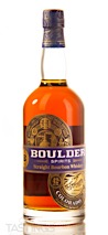 Boulder Straight Bourbon Whiskey