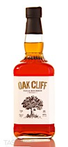Oak Cliff Texas Bourbon Whiskey