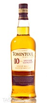 Tomintoul 10 Year Old Speyside Single Malt Scotch Whisky