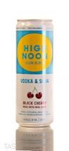High Noon Sun Sips Black Cherry Vodka & Soda
