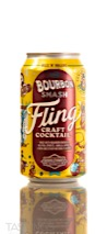 Boulevard Beverage Company Bourbon Smash Fling Craft Cocktail