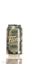 Boulevard Beverage Company Fling Cucumber Lime Gin and Tonic Ready-to-Drink Cocktail