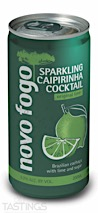 Novo Fogo Original Lime Sparkling Caipirinha Ready-to-Drink Cocktail