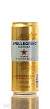 San Pellegrino Essenza Lemon & Lemon Zest Sparkling Flavored Water