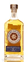 Samuel Gelston 12 Year Old Irish Single Malt Whiskey