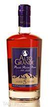 Alto Grande 5 Year Rum