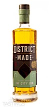District Made Barrel Rested Ivy City Gin