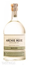 Archie Rose White Rye Unaged Whisky