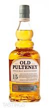 Old Pulteney 15 Year Old North Highland Single Malt Scotch Whisky