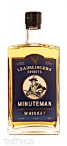 Leadslingers Minuteman Single Malt American Whiskey