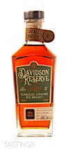 Davidson Reserve Small Batch Tennessee Straight Rye Whiskey