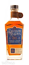 Davidson Reserve Four Grain Small Batch Tennessee Straight Bourbon Whiskey