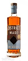 District Made Straight Rye Whiskey