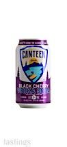 CANTEEN Spirits Black Cherry Vodka Soda RTD