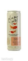 Plume & Petal Peach Spritz RTD