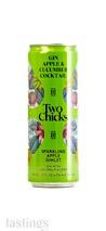 Two Chicks Cocktails Sparkling Apple Gimlet RTD