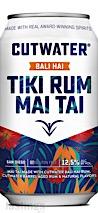 Cutwater Spirits RTD Bali Hai Tiki Rum Mai Tai