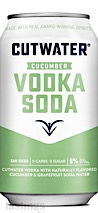 Cutwater Spirits RTD Cucumber Vodka Soda