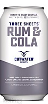 Cutwater Spirits RTD Three Sheets Rum & Cola