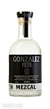 Gonzalez 1939 Joven Blanco Mezcal