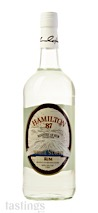 """Hamilton Ministry of Rum Collection """"White Stache"""" Rum"""