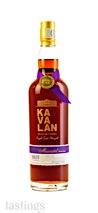 Kavalan Solist Moscatel Sherry Single Cask Strength Single Malt Whisky