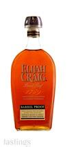 Elijah Craig Barrel Proof Straight Bourbon Whiskey