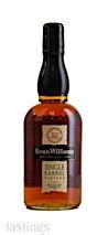 Evan Williams 2013 Single Barrel Straight Bourbon Whiskey