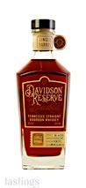 Davidson Reserve Single Barrel No. 15-0120 Tennessee Straight Bourbon Whiskey
