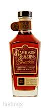 Davidson Reserve Small Batch Tennessee Straight Bourbon Whiskey