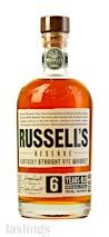 Russells Reserve 6 Year Kentucky Straight Rye Whiskey