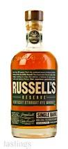 Russells Reserve Single Barrel Straight Rye Whiskey