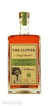 The Clover Single Barrel Straight Rye Whiskey