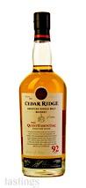 Cedar Ridge The QuintEssential American Single Malt Whiskey