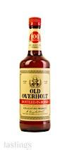 Old Overholt Bottled-In-Bond Straight Rye Whiskey
