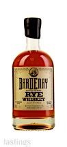 Bardenay Bottled In Bond Rye Whiskey