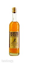 High West American Prairie Blended Straight Bourbon Whiskey Batch 20K10