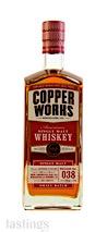 Copperworks Distilling Company American Single Malt Whiskey Release No. 038