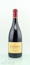Citation 2002  Pinot Noir