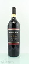 Kitchen Sink NV Reserve Red Table Wine California