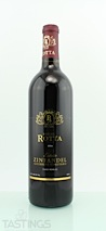 Rotta Winery 2006 Estate, Giubbini Vineyard Zinfandel